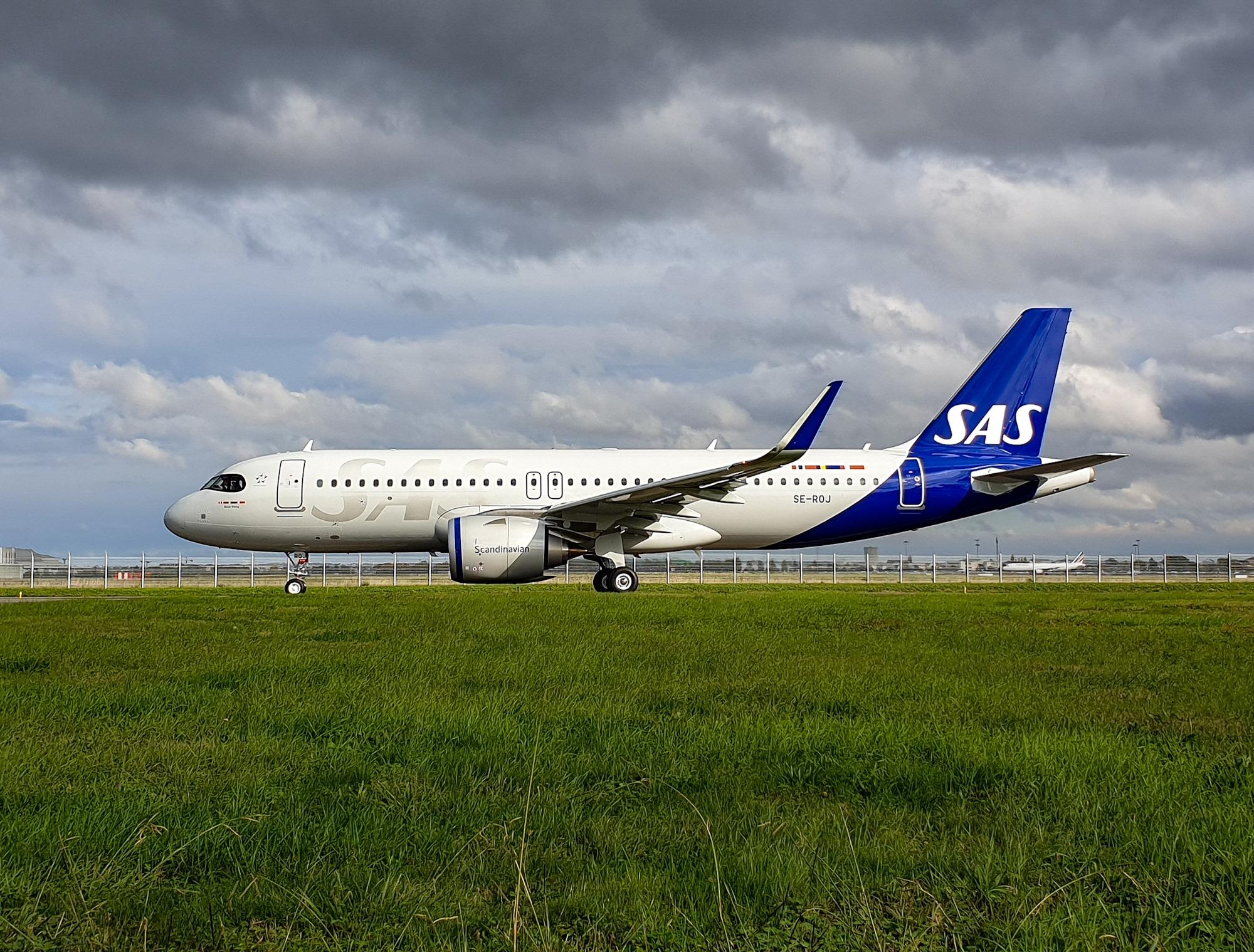 Airbus A320-200neo fra SAS. (Foto: SAS | Facebook)