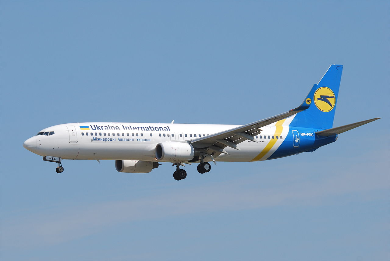 Boeing 737-800 fra Ukraine International Airlines. (Foto: Aero Icarus | CC 2.0)