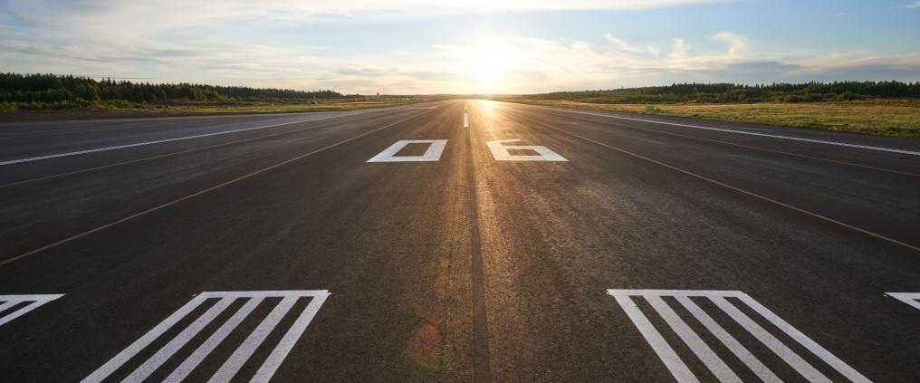 Fremtidens indenrigsflyvning i Finland skal være grøn – her fra Tampere-Pirkkala lufthavnen. (Foto: Finavia)