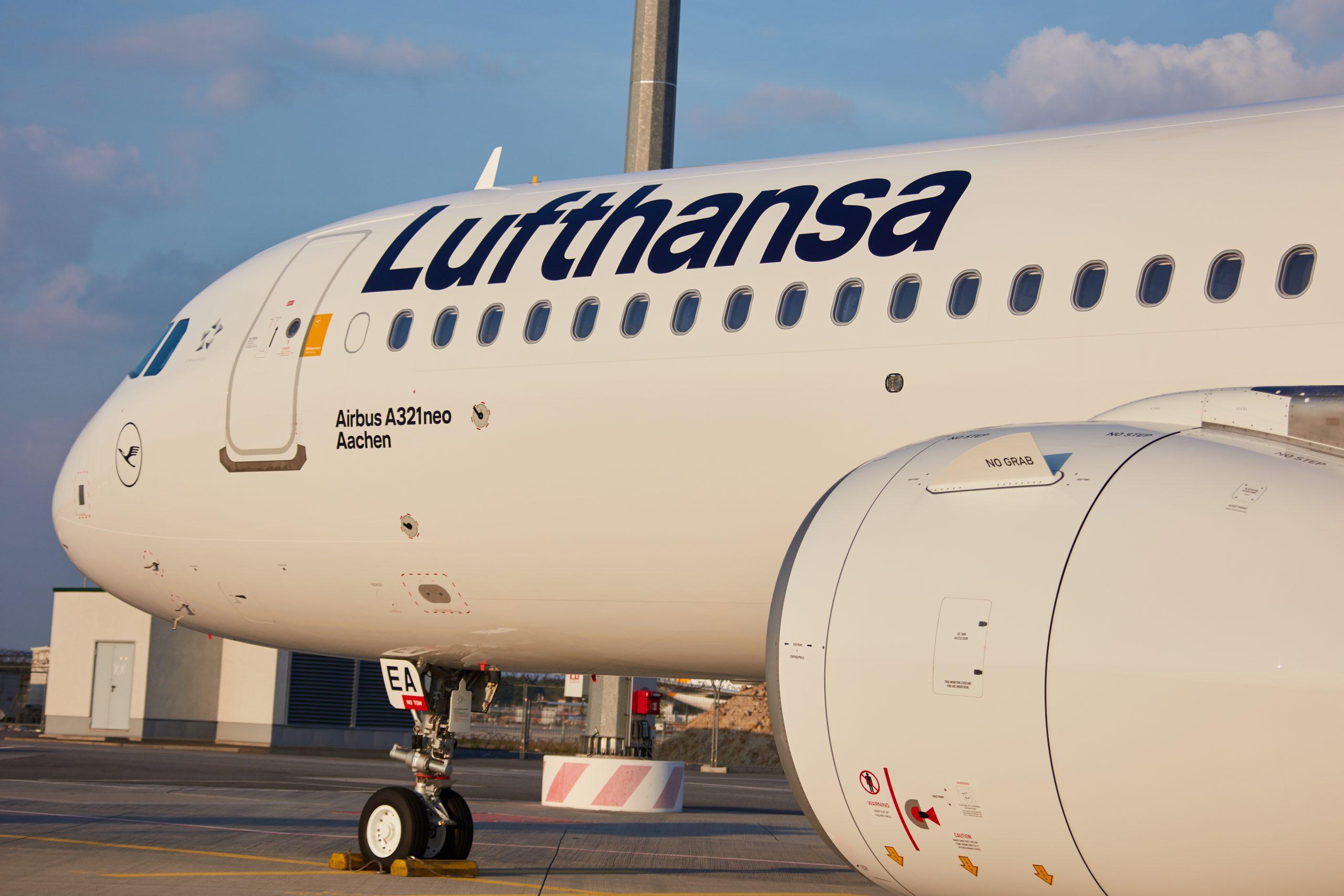 En Airbus A321neo fra Lufthansa. Foto: Lufthansa