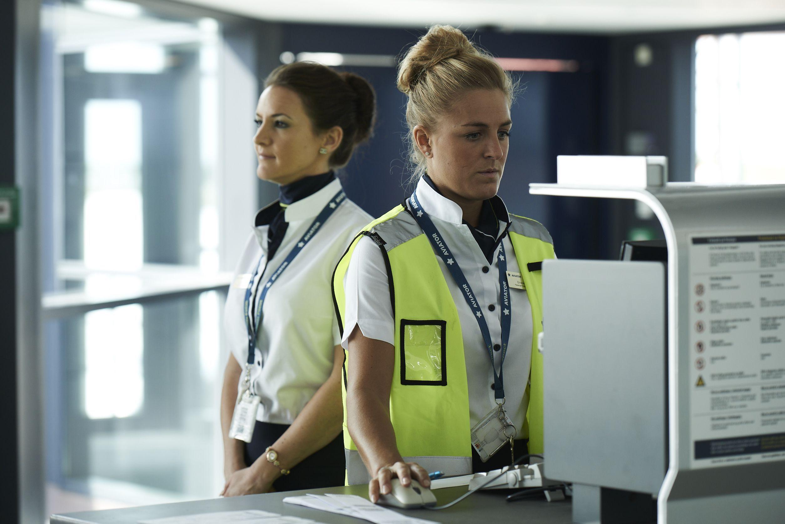 Handlingmedarbejdere hos Aviator. (Foto: Aviator | PR)