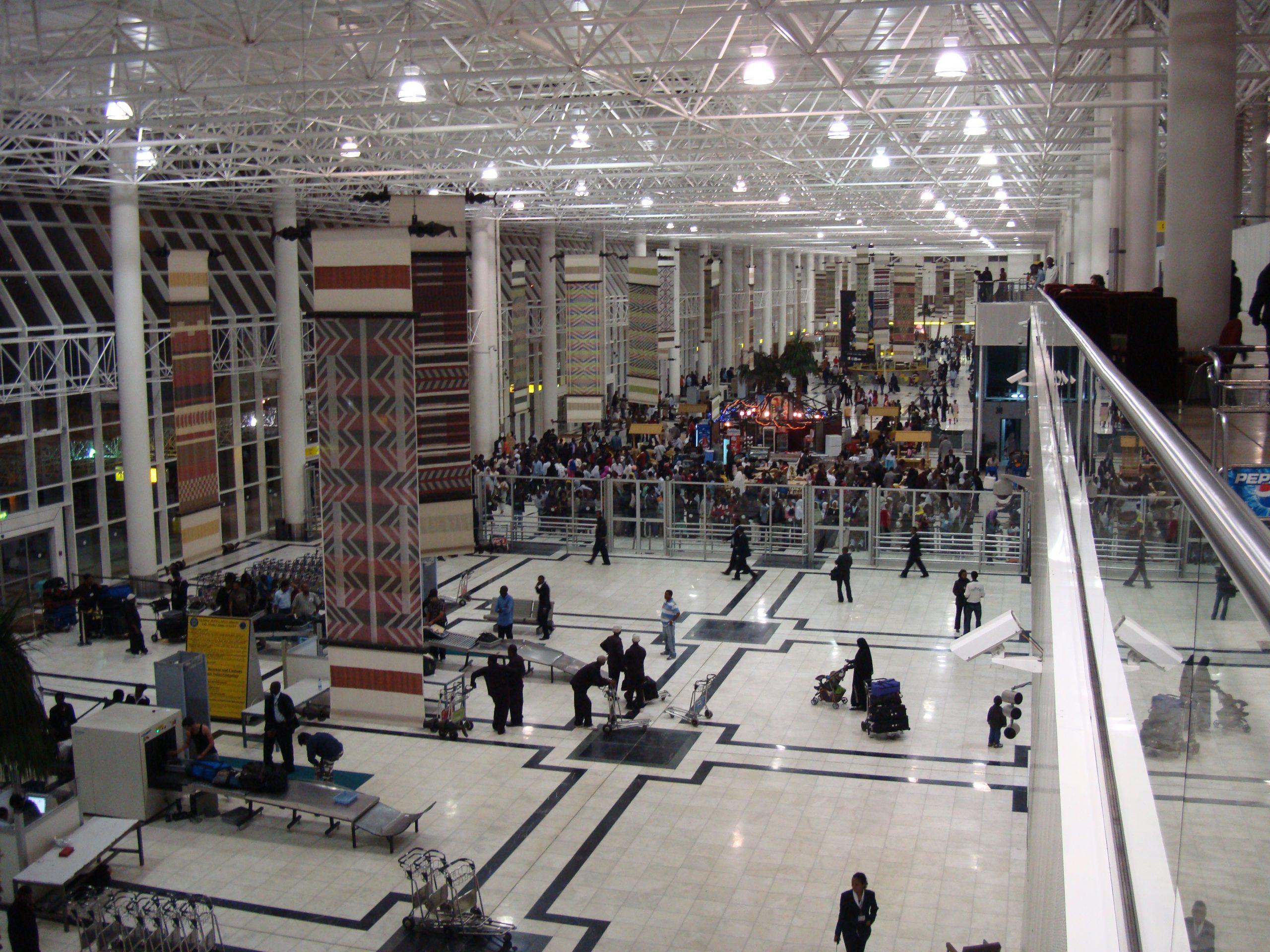 Ethiopian Airlines vil erstatte Bole International Airport (billedet) med en ny storlufthavn. Foto: Vob08, CC 3.0