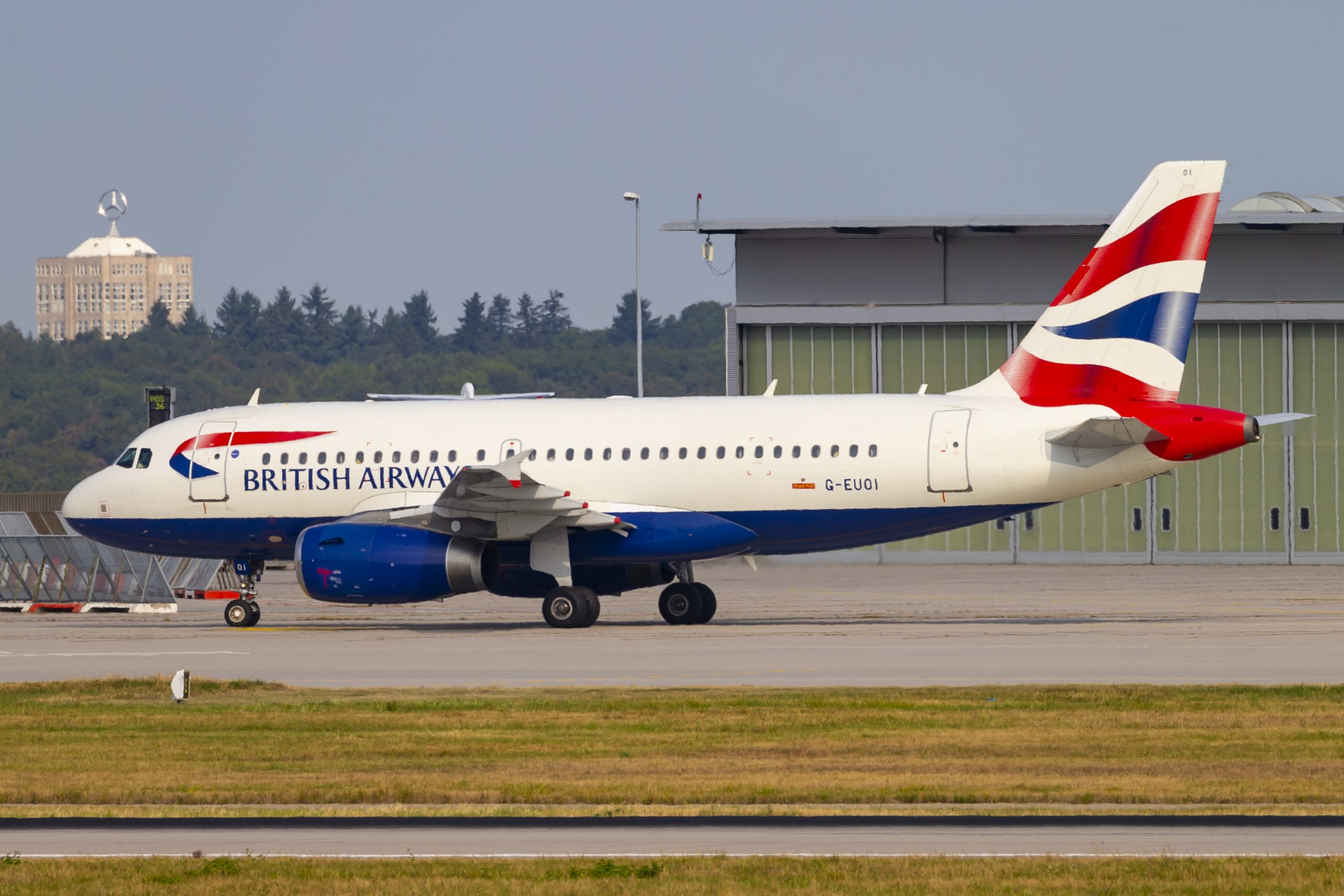 En Airbus A319-100 fra British Airways. Foto: © Thorbjørn Brunander Sund, Danish Aviation Photo