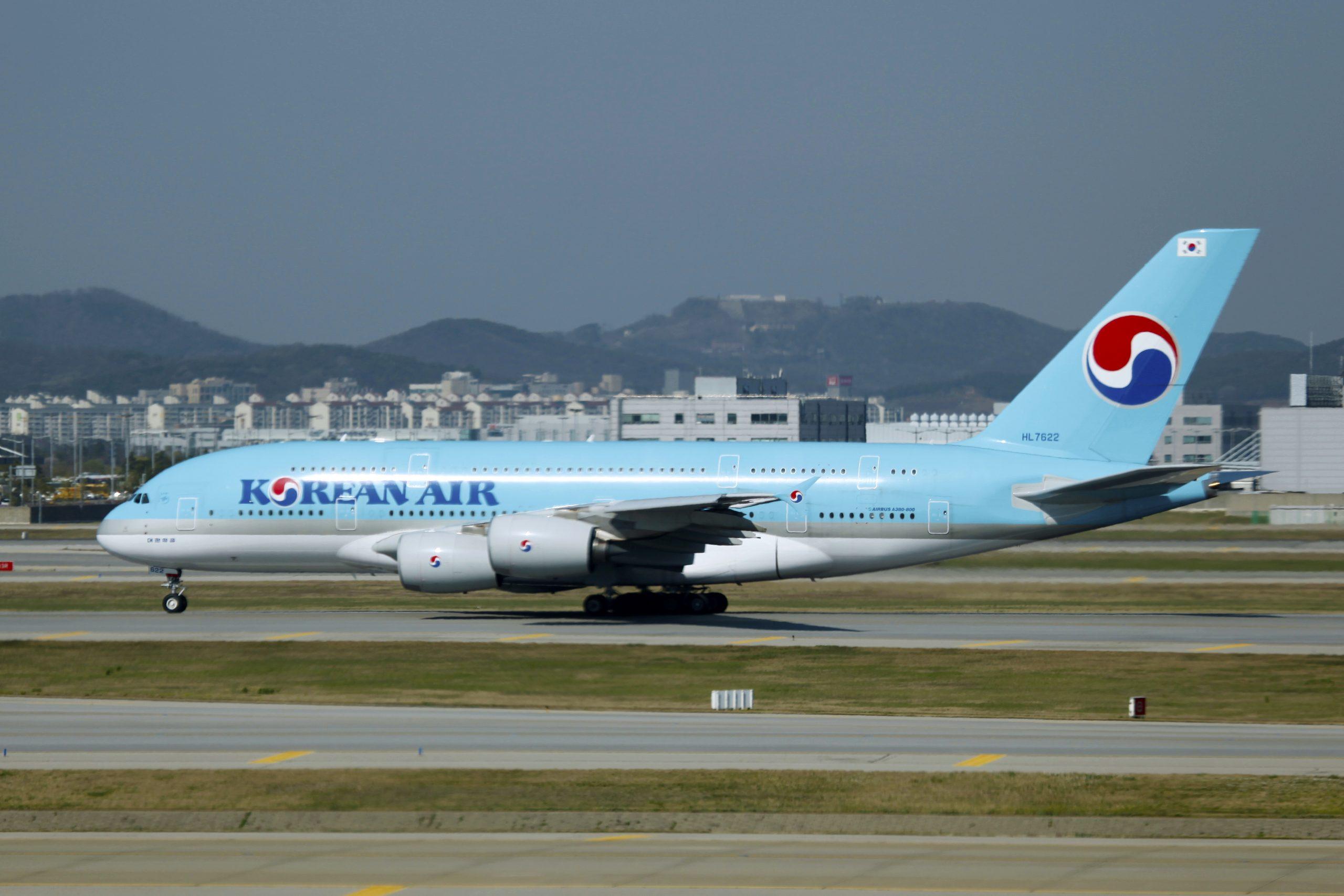 Airbus A380-800 fra Korean Air. (Foto: byeangel | CC 2.0)