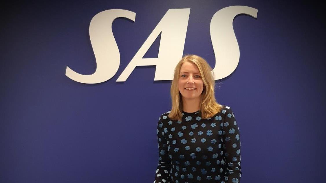 Sille Bedk-Hansen, chef for Public Affairs i SAS Danmark. (Privatfoto)