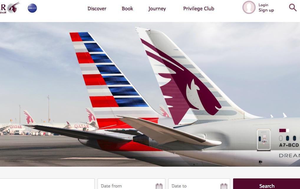 American Airlines og Qatar Airways har indgået nyt partnerskab. Foto: Qatar Airways