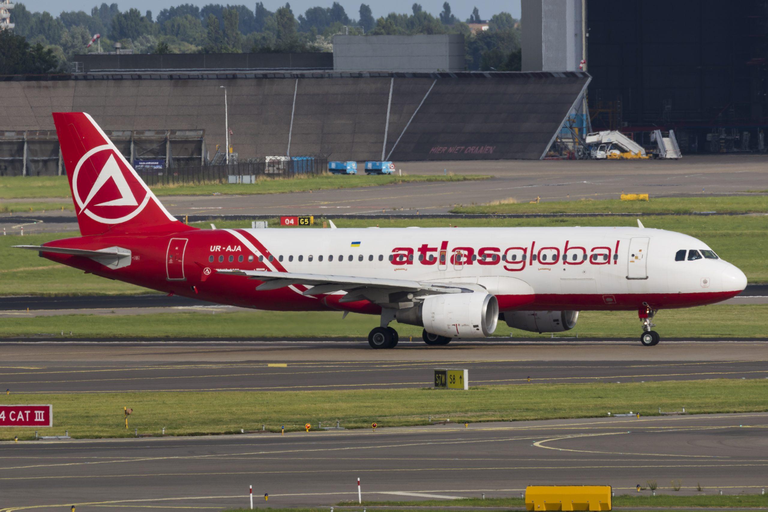 En Airbus A320-200 fra det tyrkiske flyselskab AtlasGlobal. Foto: © Thorbjørn Brunander Sund, Danish Aviation Photo