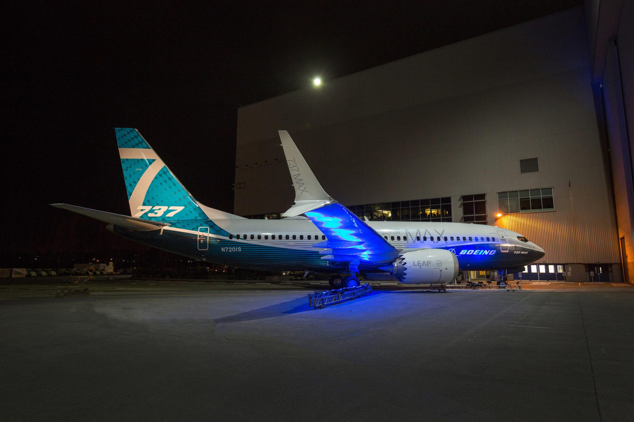 Boeing 737 MAX 7. Foto: Craig Larsen/PRNewsfoto/Boeing
