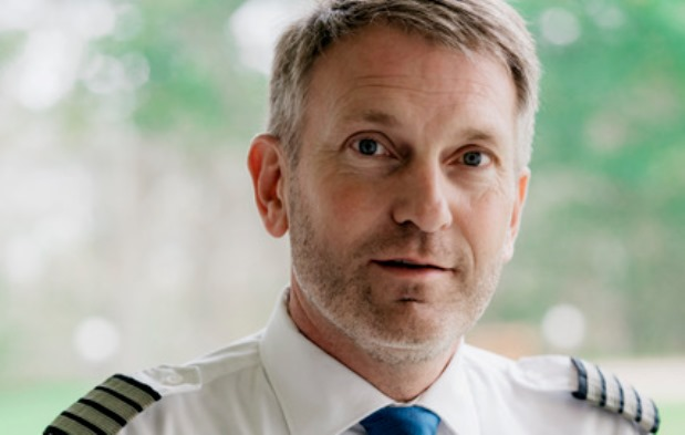 Henrik Thyregod, formand i Dansk Pilotforening. (Foto: DPF)