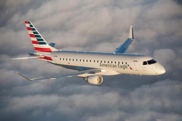 Embraer ERJ-175 fra American Eagle. Foto: American Airlines