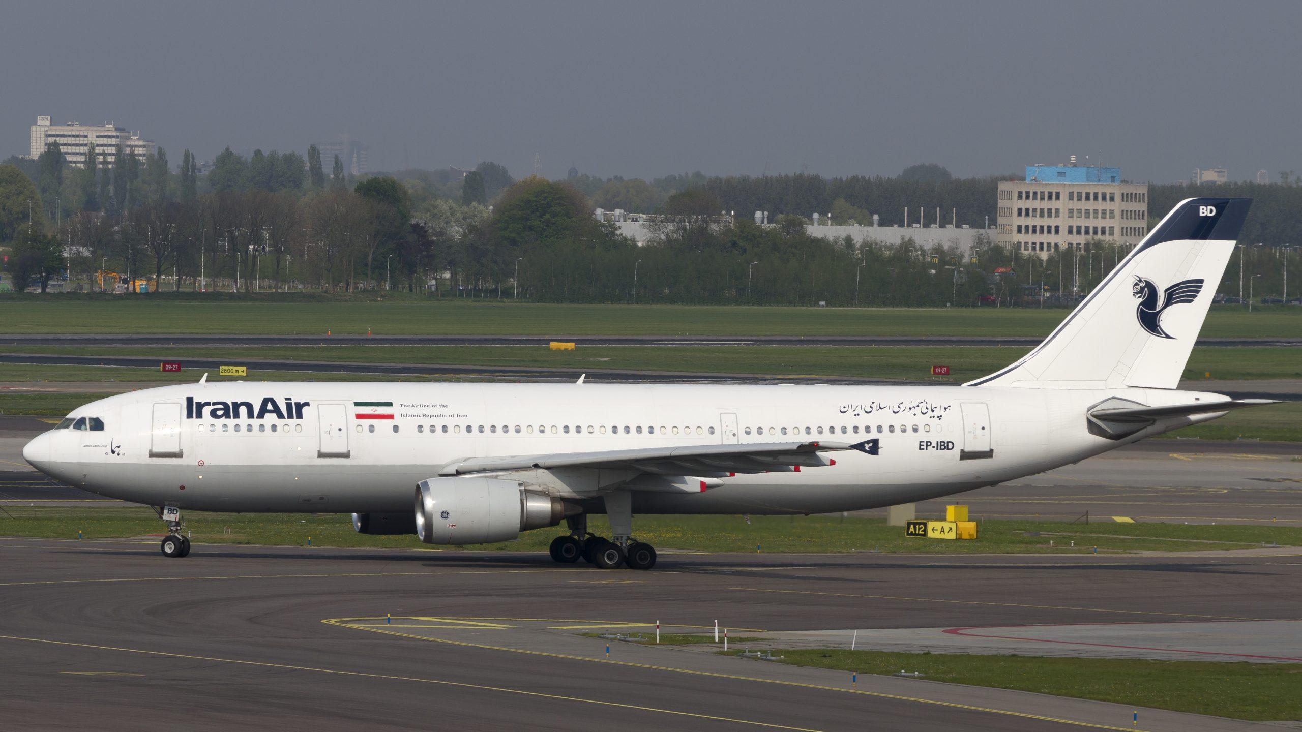 En Airbus A300-600R fra Iran Air. Foto: © Thorbjørn Brunander Sund, Danish Aviation Photo