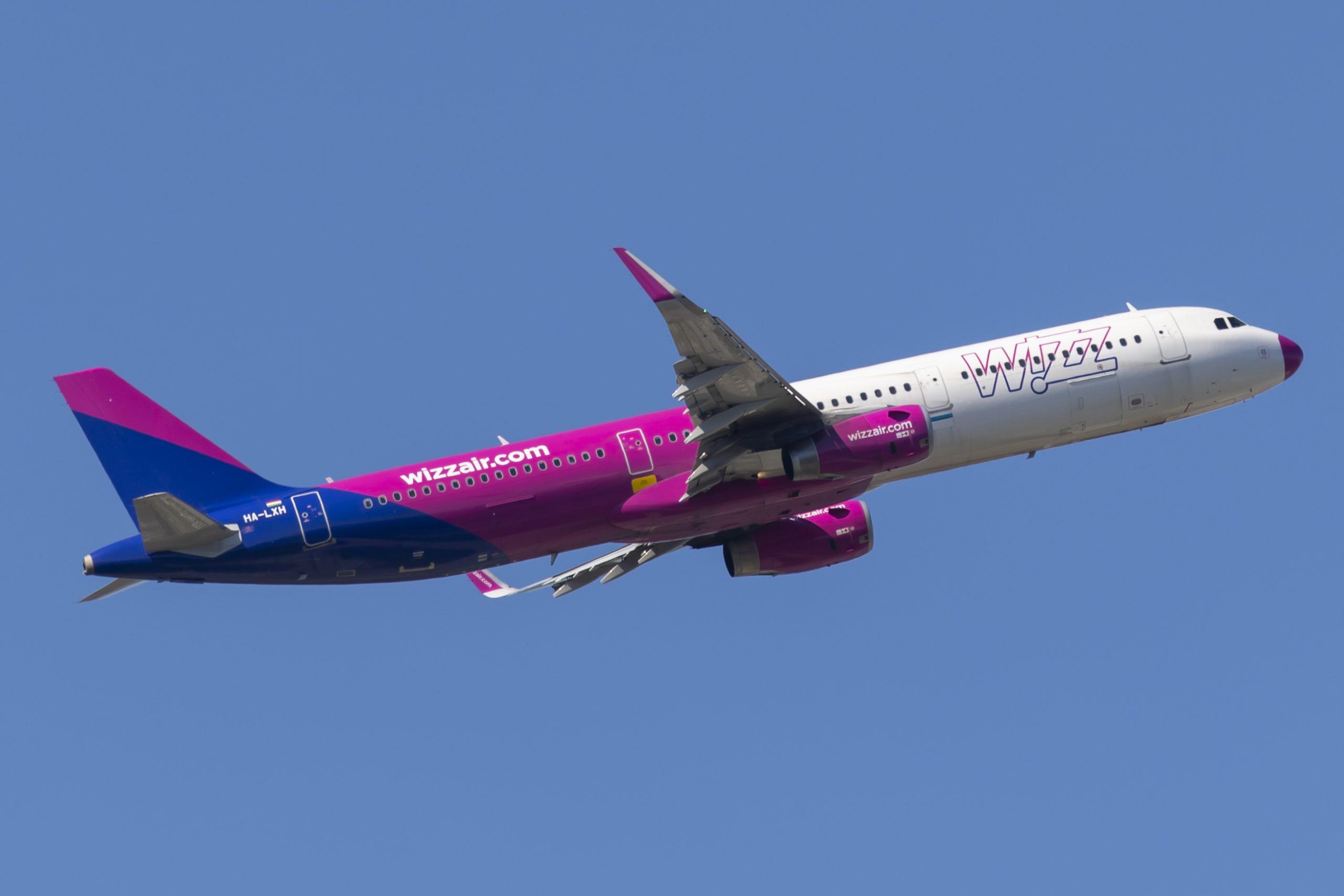 Airbus A321-200 fra Wizz Air. (Foto: © Thorbjørn Brunander Sund | Danish Aviation Photo)