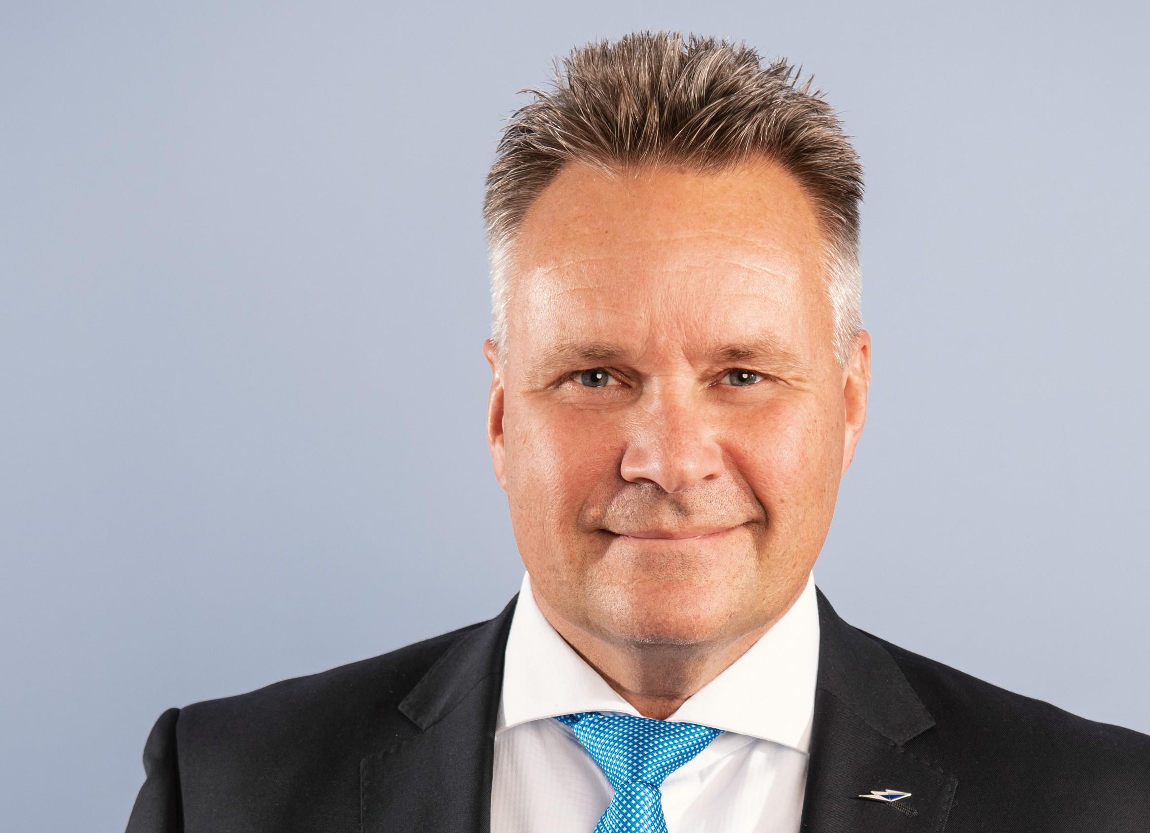 Ola Hansson, chef for Lufthansas hub i München Lufthavn.. (Foto: Lufthansa PR)