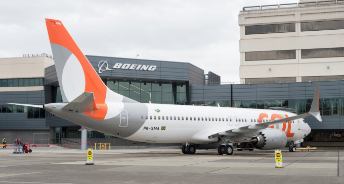 Det brasilianske flyselskab GOL har annulleret en ordre på 34 Boeing 737 MAX. Foto: Formagini, CC 4.0