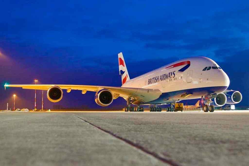 British Airways Airbus A380-800 i London Heathrow Airport. (Foto: British Airways | PR)