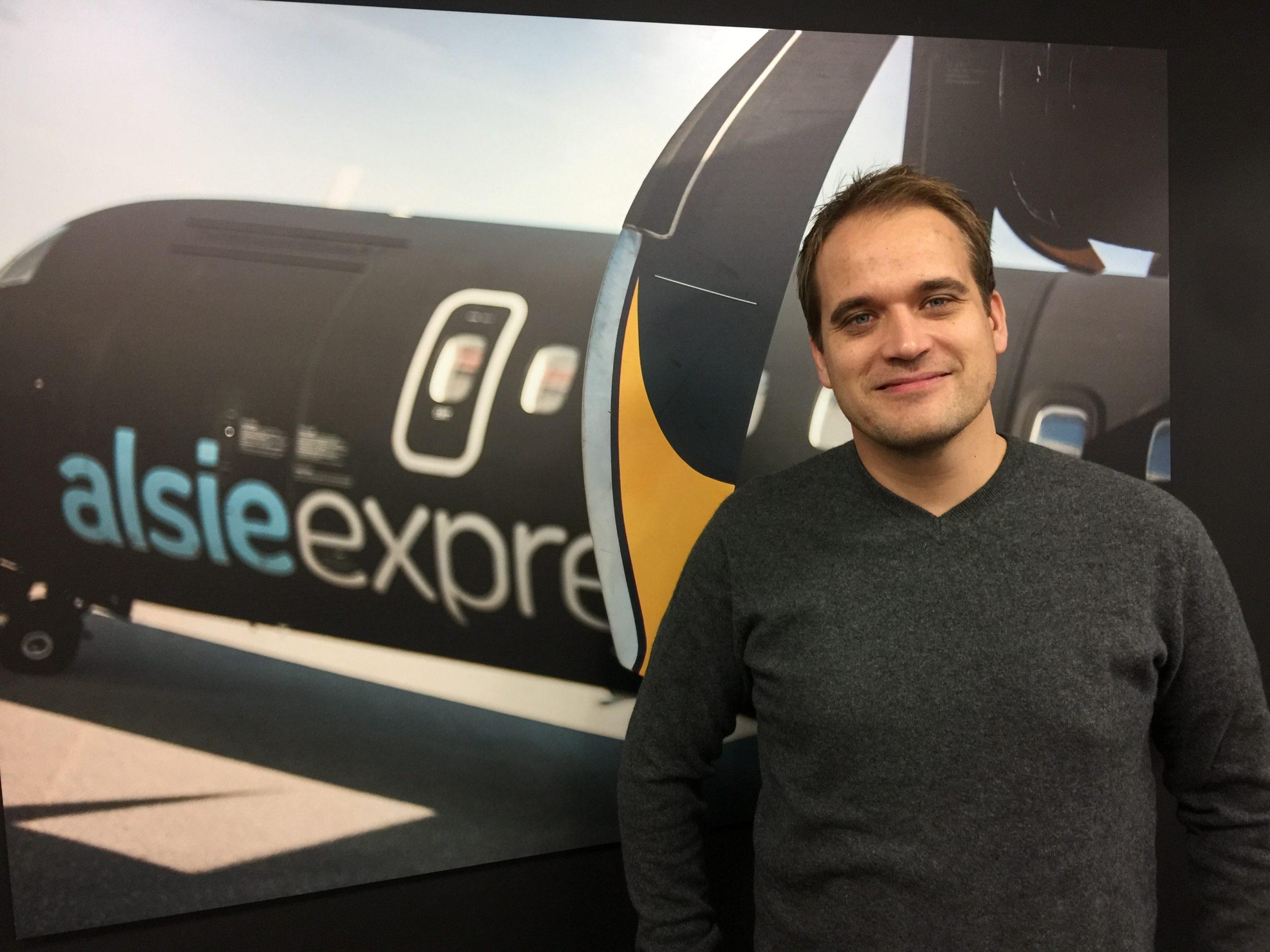 Dennis Rybasch, administrerende direktør for Alsie Express. (Foto: Alsie Express | PR)