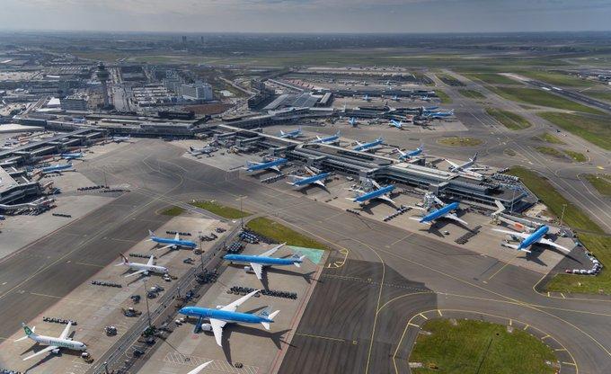 Amsterdam Schiphol Airport under coronakrisen. (Foto: Schiphol Airport | PR)