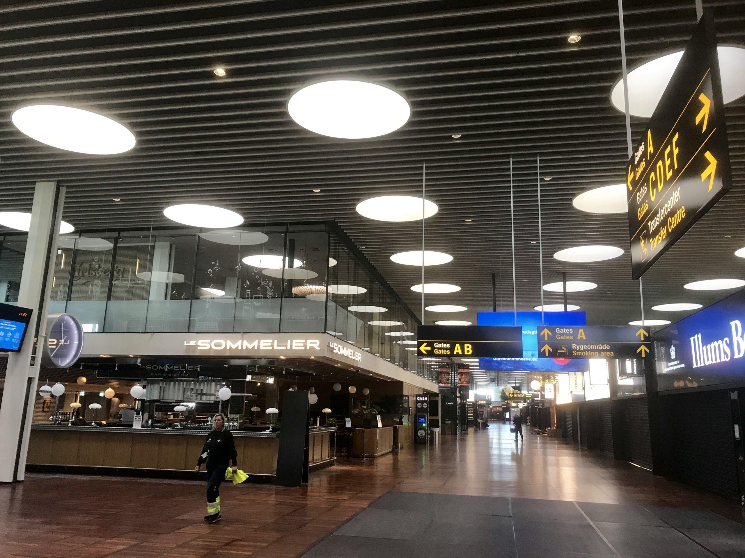 Københavns Lufthavn i april 2020. (Foto: Københavns Lufthavn | PR)