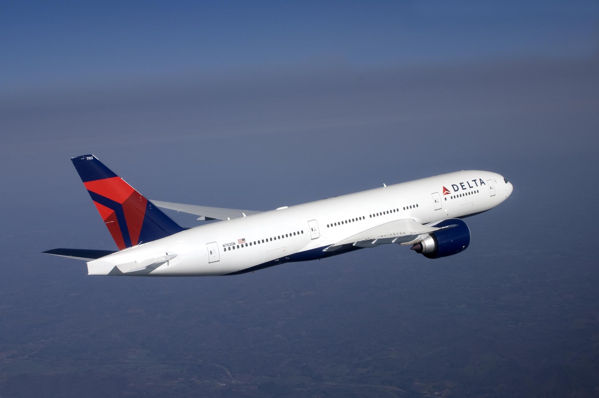 Boeing 777 fra Delta Air Lines. (Foto: Delta Air Lines | PR)
