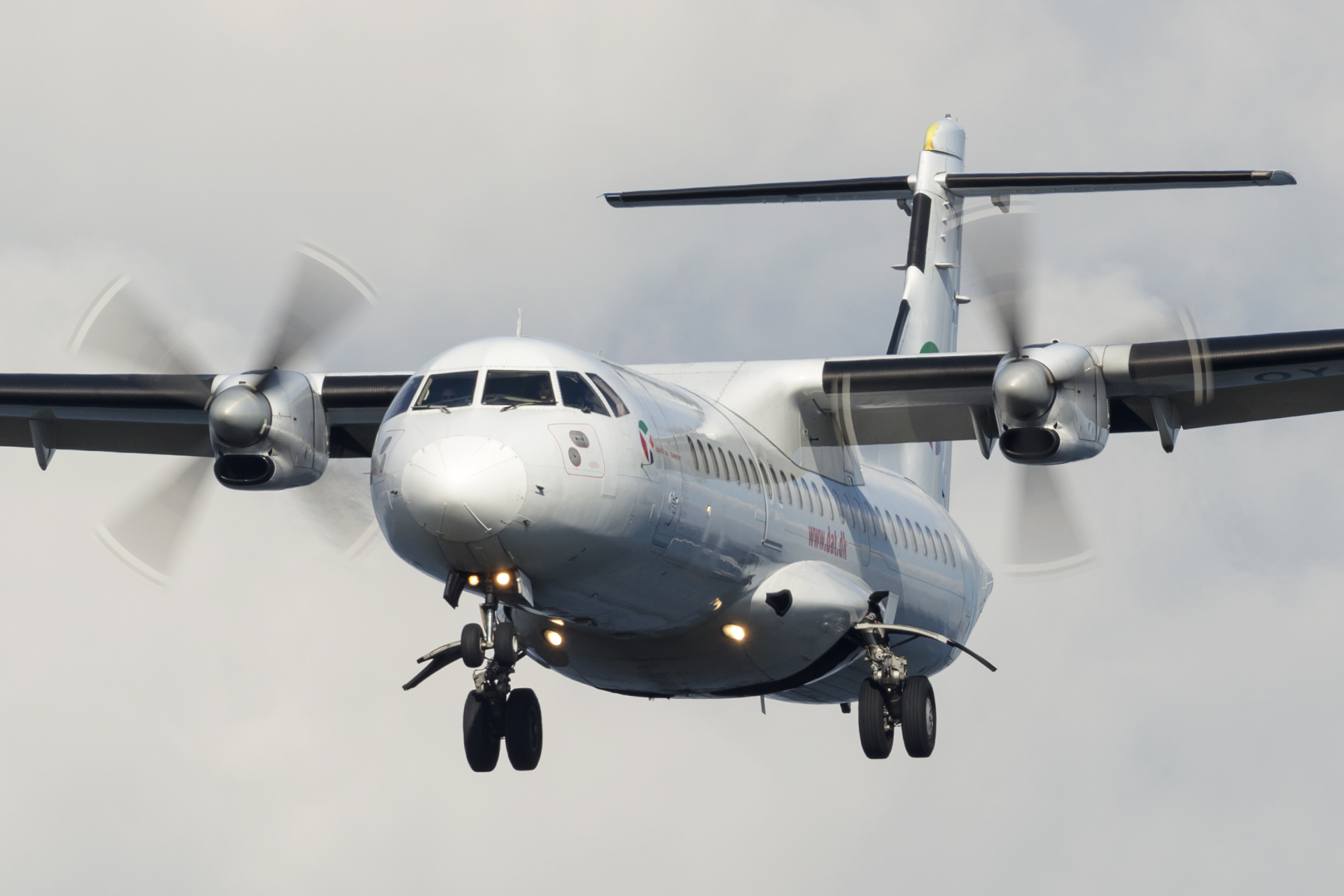 ATR 72 fra DAT. Foto: © Thorbjørn Brunander Sund, Danish Aviation Photo)