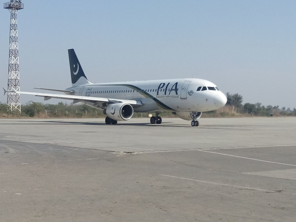 Ulykkesflyet – en Airbus A320-200 med registreringen AP-BLD. (Foto: Aasif Azaan | CC 4.0)