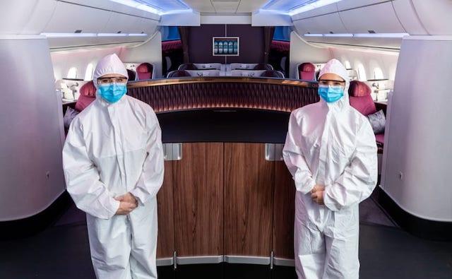 Sådan vil kabinemedarbejderne i Qatar Airways fremover være klædt. (Foto: Qatar Airways)