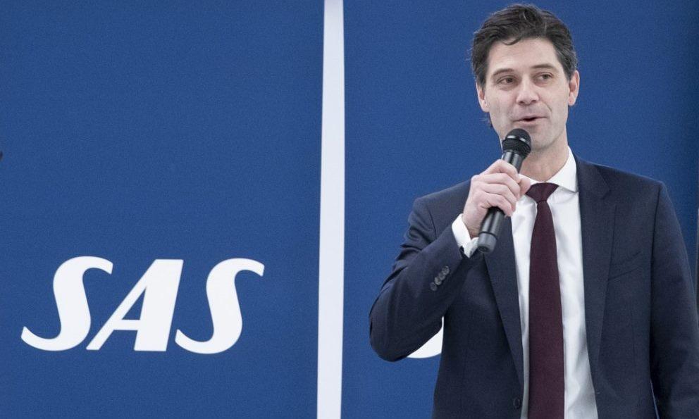 Koncerndirektør Simon Pauck Hansen fra SAS. (Foto: Ernst Tobisch | CPH)