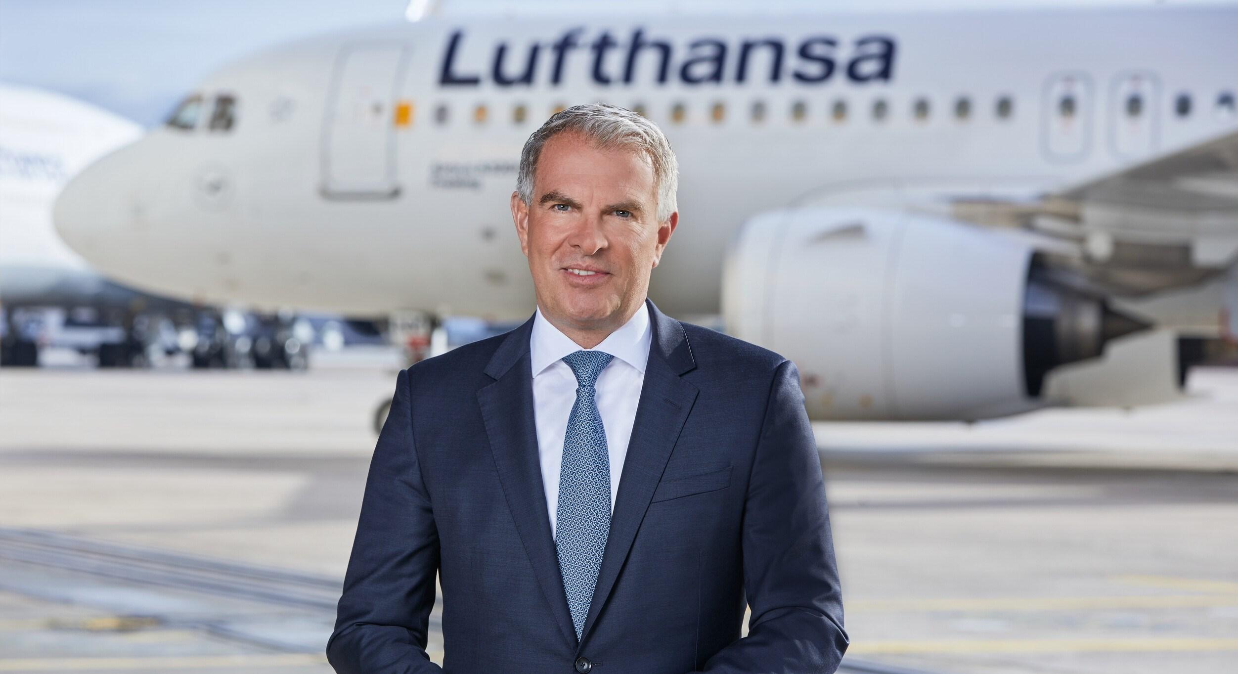 Koncernchef Carsten Spohr fra Lufthansa Group. (Foto: Lufthansa | PR)