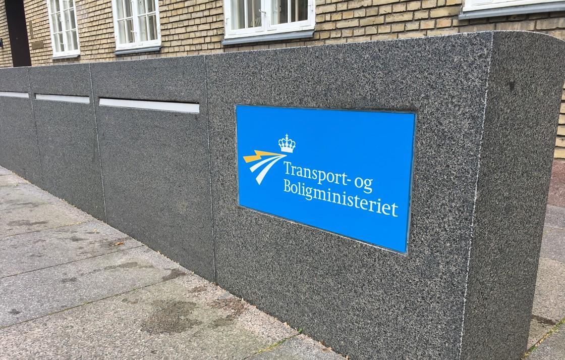 Transport- og Boligministeriet på Frederiksholms Kanal. (Foto: TRM | PR)