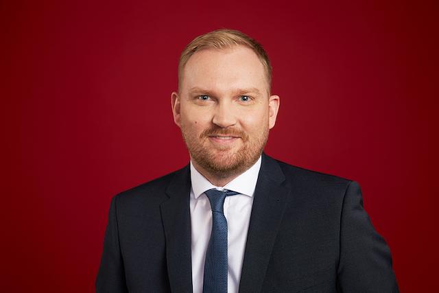 Arnar Már Magnússon er flyselskabet PLAY's koncernchef. Foto: PLAY