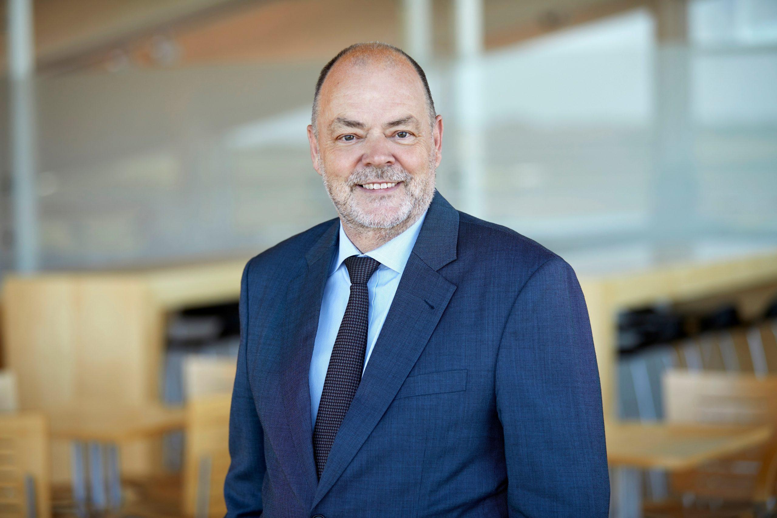 Administrerende direktør Søren Svendsen fra Aalborg Lufthavn. (Foto: Aalborg Lufthavn   PR)