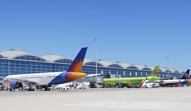 Lufthavnen i Alicante. (Foto: AENA)