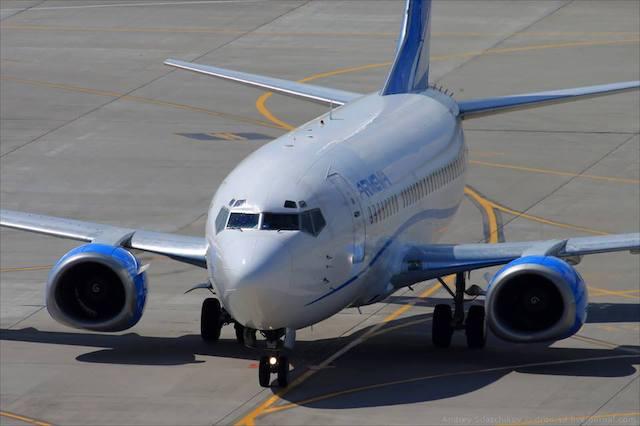 Boeing 737 fra Aircompany Armenia. (Foto: Aircompany Armenia)