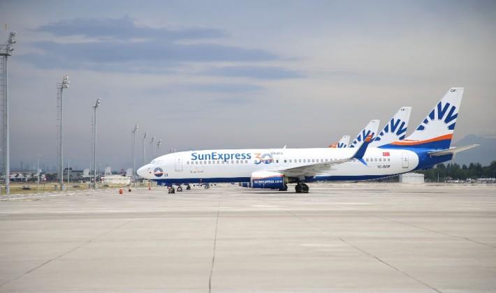Boeing 737-fly hos SunExpress. (Foto: SunExpress | PR)