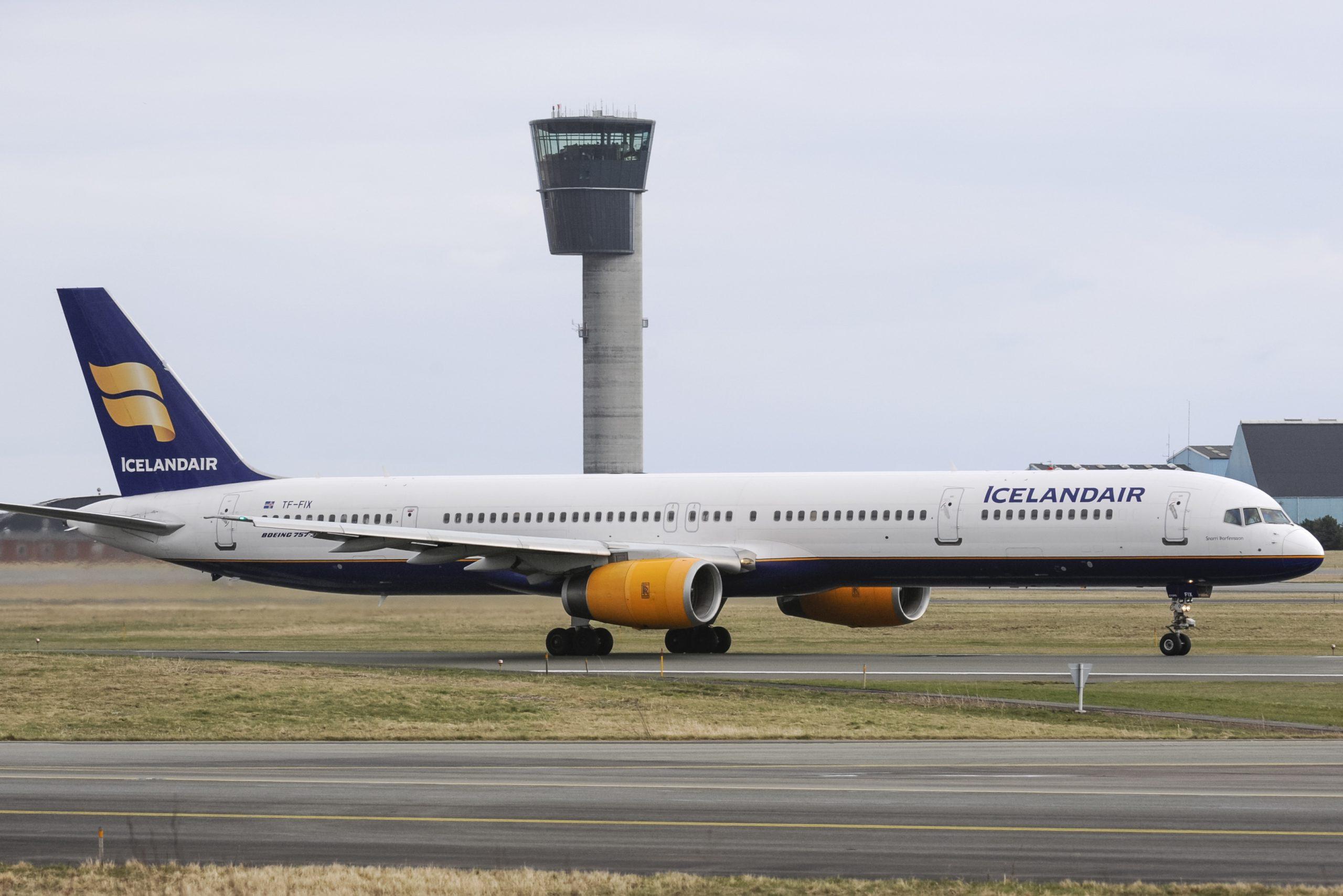 Boeing 757-300 fra Icelandair i Københavns Lufthavn. (Arkivfoto: © Thorbjørn Brunander Sund | Danish Aviation Photo)