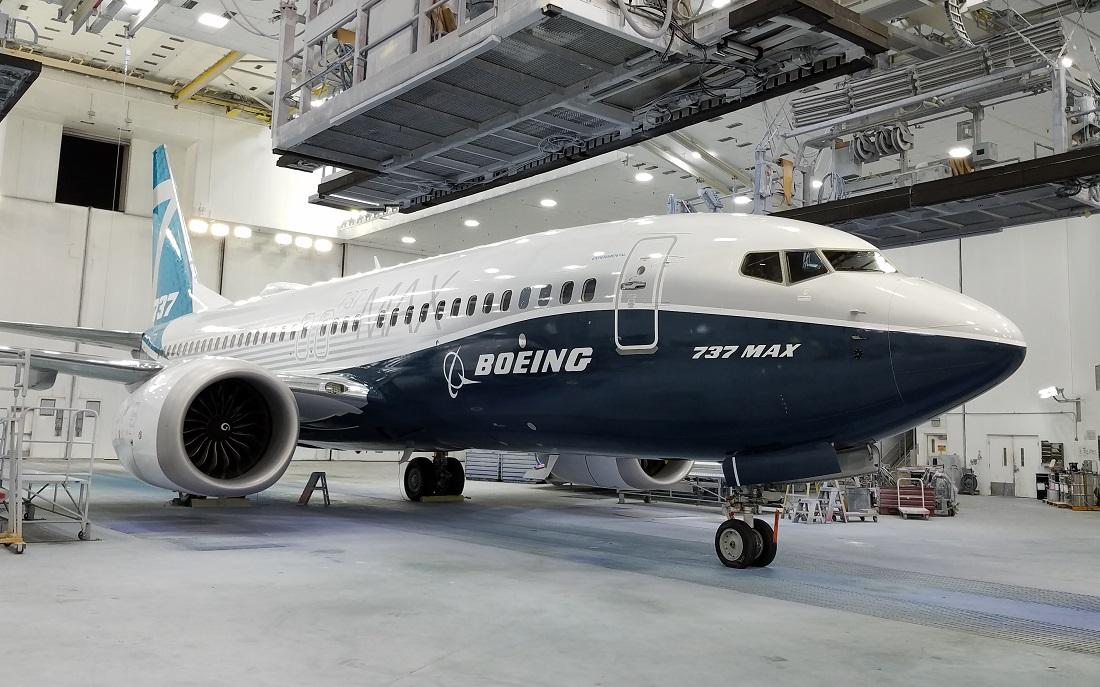 En Boeing 737 MAX 7. Foto: Boeing
