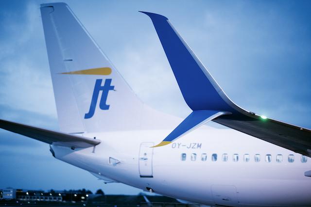 Jet Time Boeing 737-800. Foto: Erik Refner/Jet Time