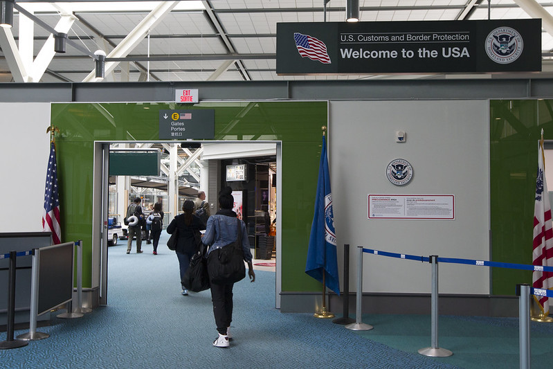 U.S. Customs and Border Protection (CBP) i Vancouver International Airport. (Foto: Donna B | US Embassy)