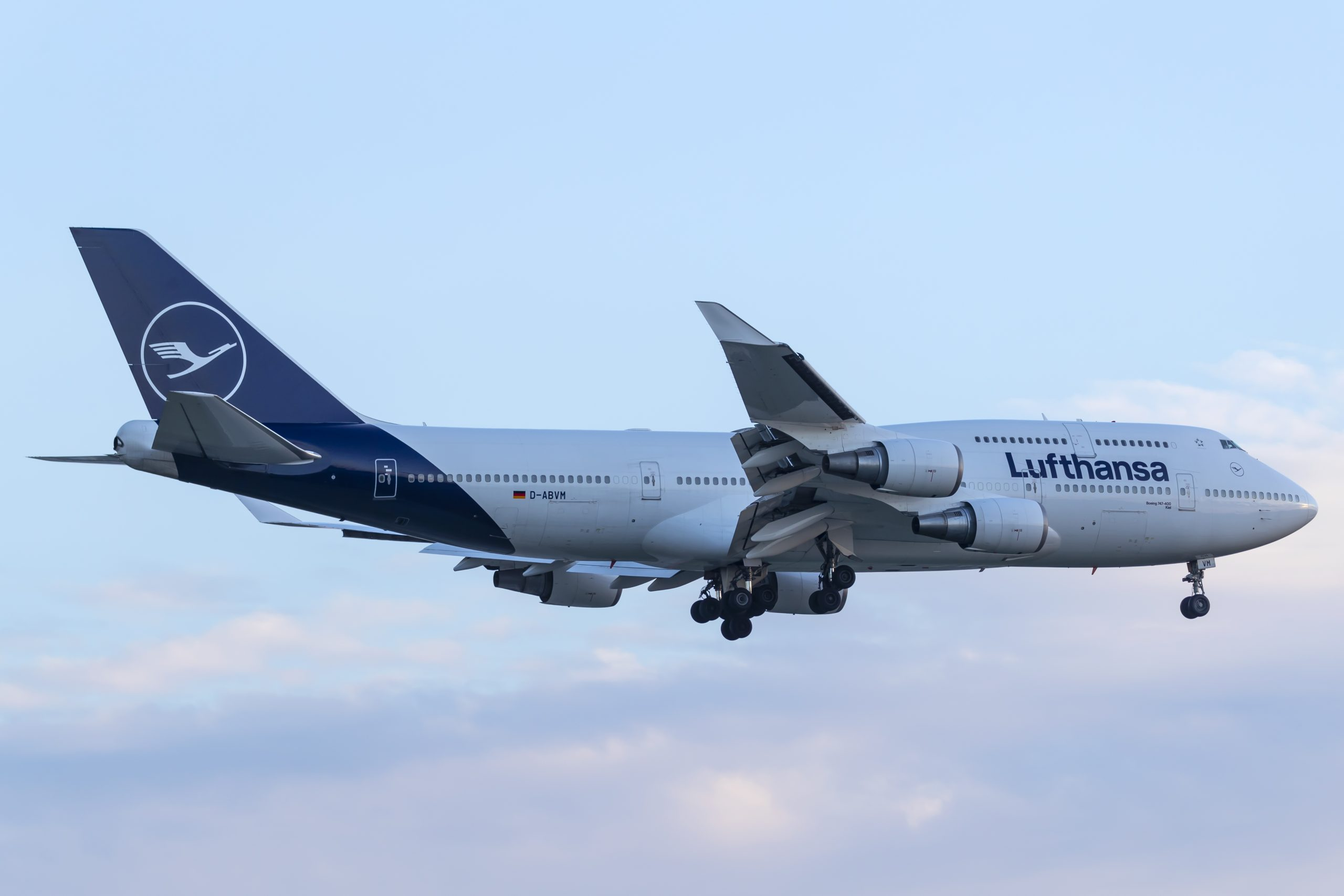 En Boeing 747-400 fra Lufthansa. Foto: © Thorbjørn Brunander Sund, Danish Aviation Photo