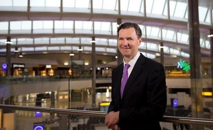 John Holland-Kaye, CEO, London Heathrow Airport (foto: Ferrovial)