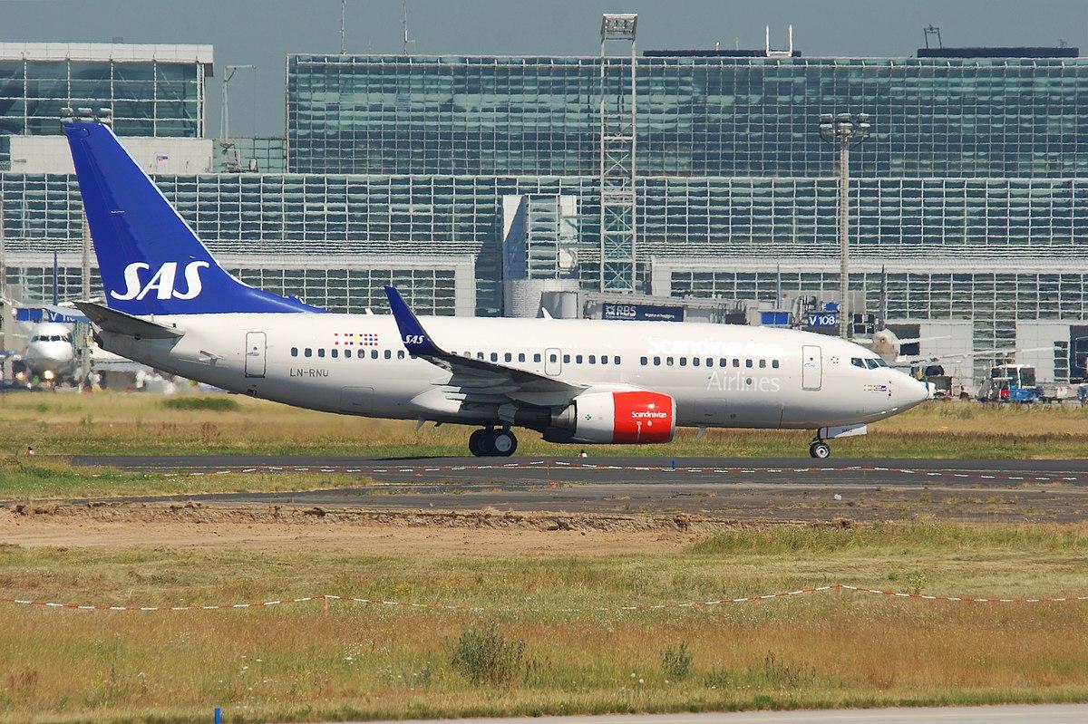 Boeing 737-700 fra SAS i Frankfurt Airport. (Foto: Aero Icarus | CC 2.0)