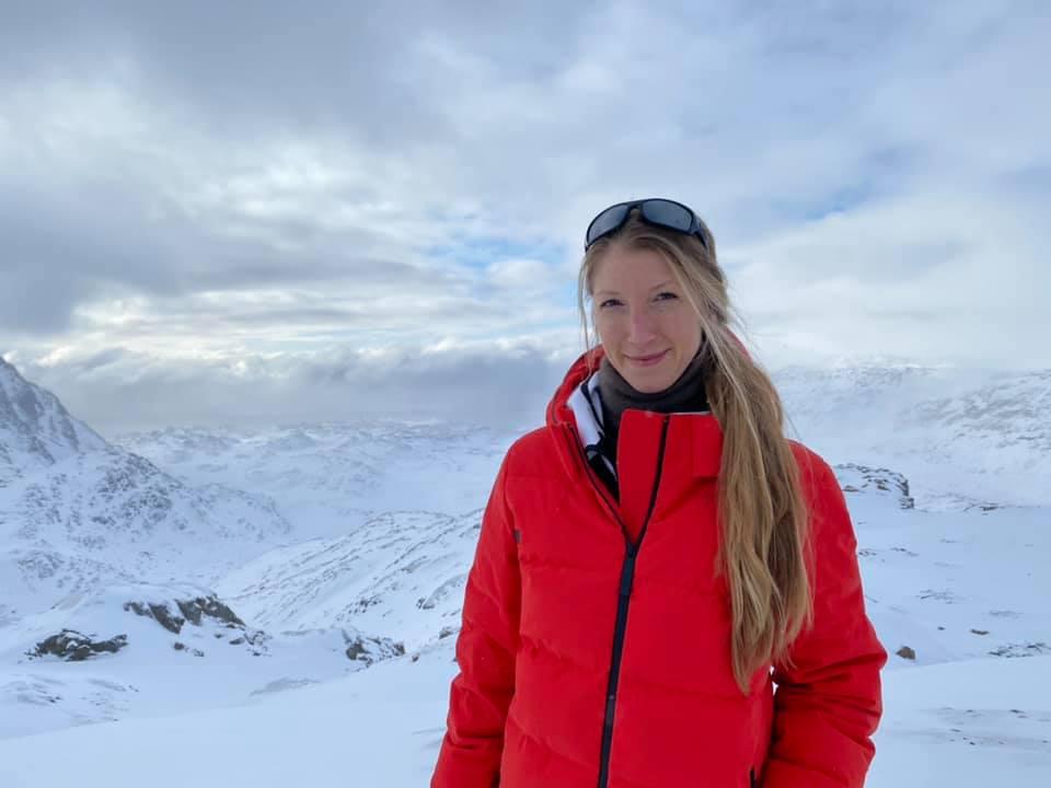 Katrine Friis Olsen har gennemført Arctic Circle Trail i Grønland. Foto: Katrine Friis Olsen/Facebook