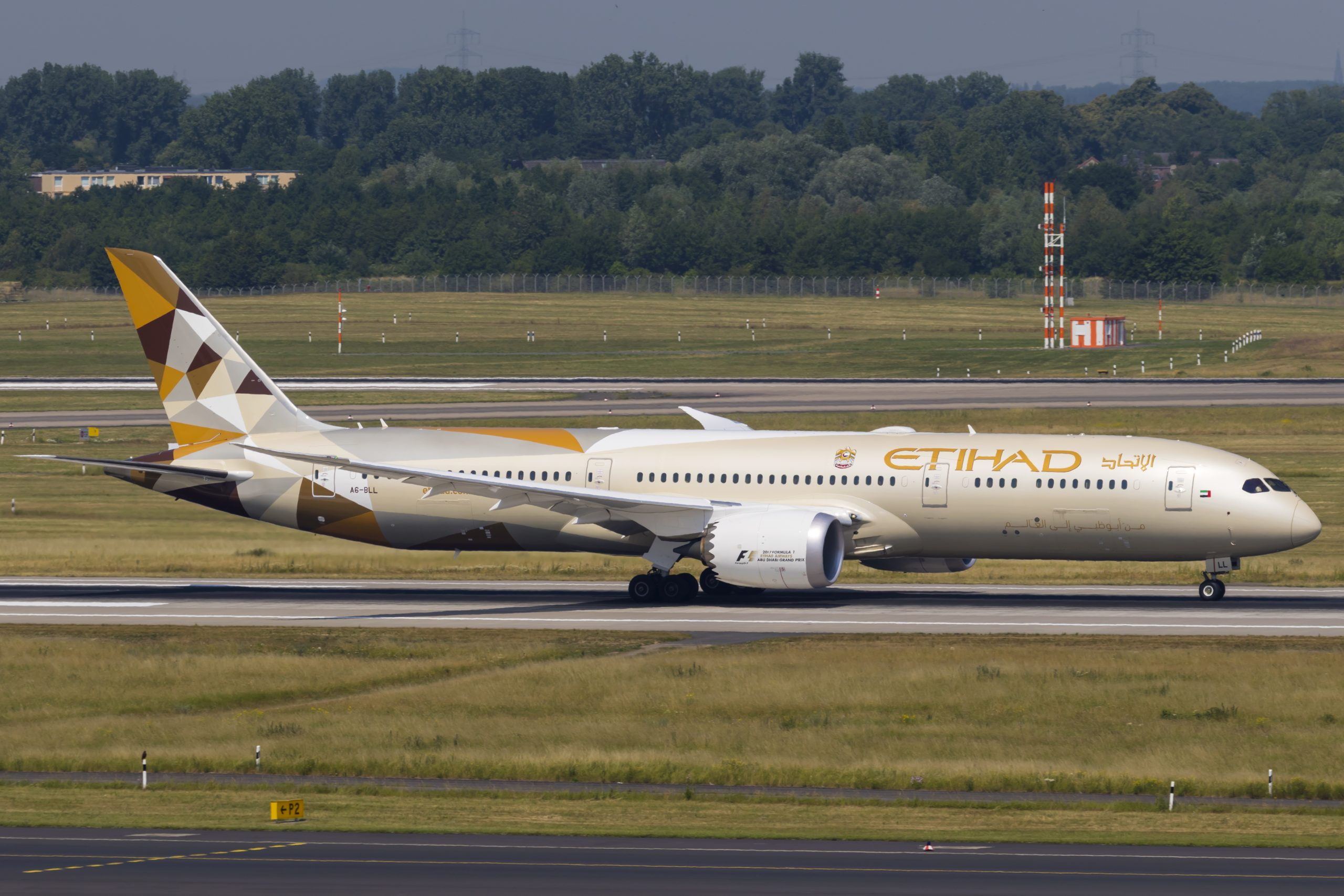 En Boeing 787-9 Dreamliner fra Etihad Airways. Foto: © Thorbjørn Brunander Sund, Danish Aviation Photo
