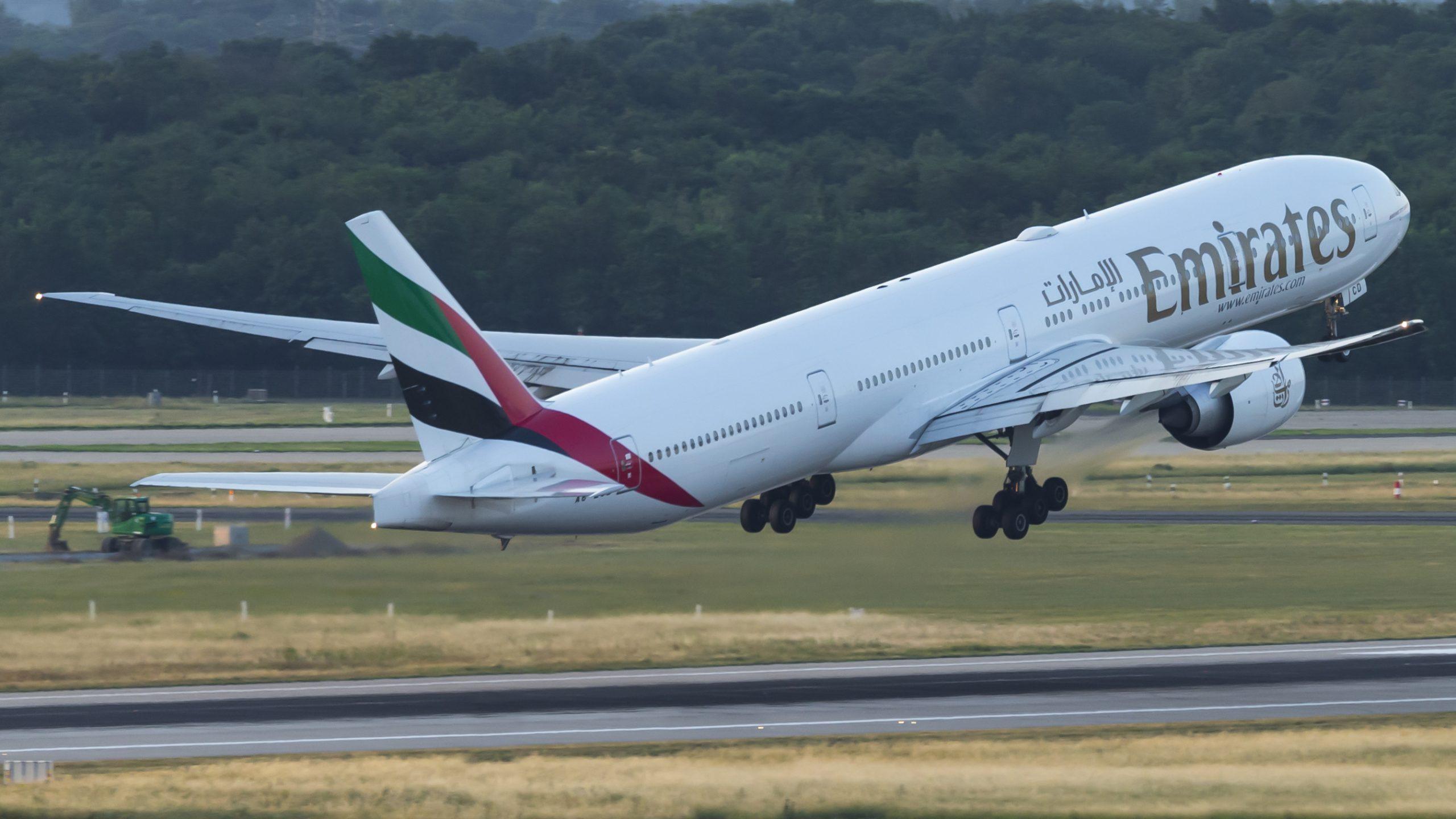 En Boeing 777-300ER fra Emirates. Foto: © Thorbjørn Brunander Sund, Danish Aviation Photo