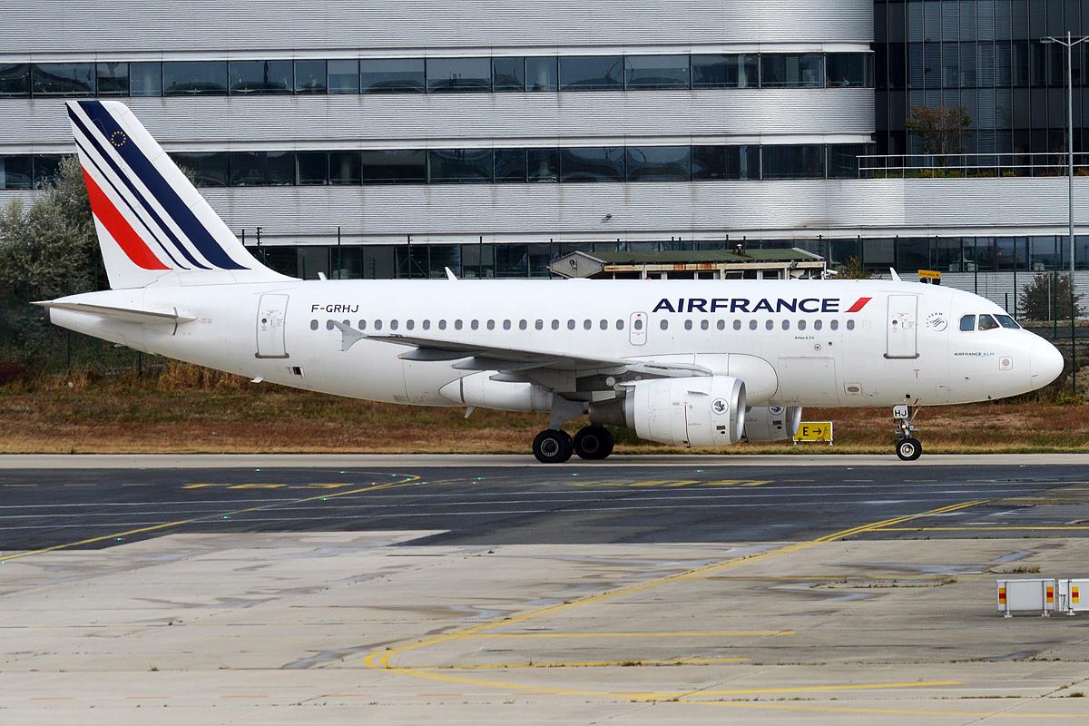 En Airbus A319-100 fra Air France. Foto: Anna Zvereva, CC 2.0