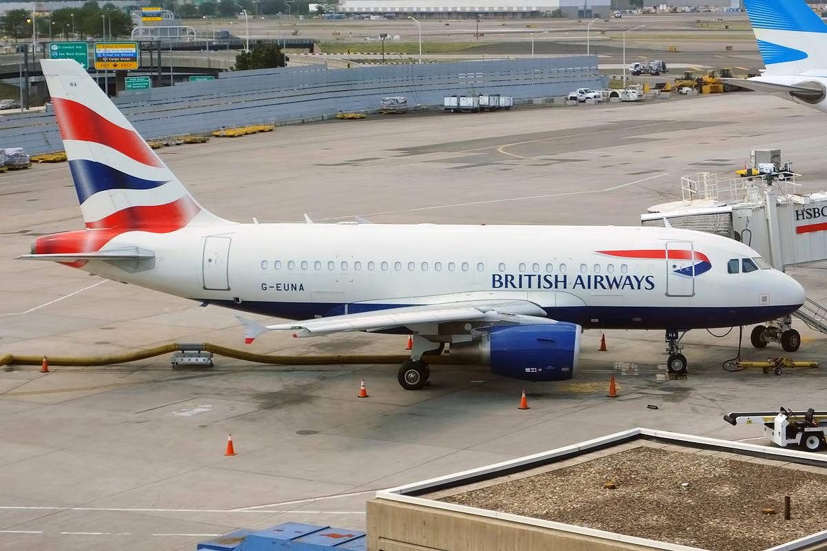 En specialindrettet Airbus A318-100 fra British Airways. Foto: Anna Zvereva, CC 2.0