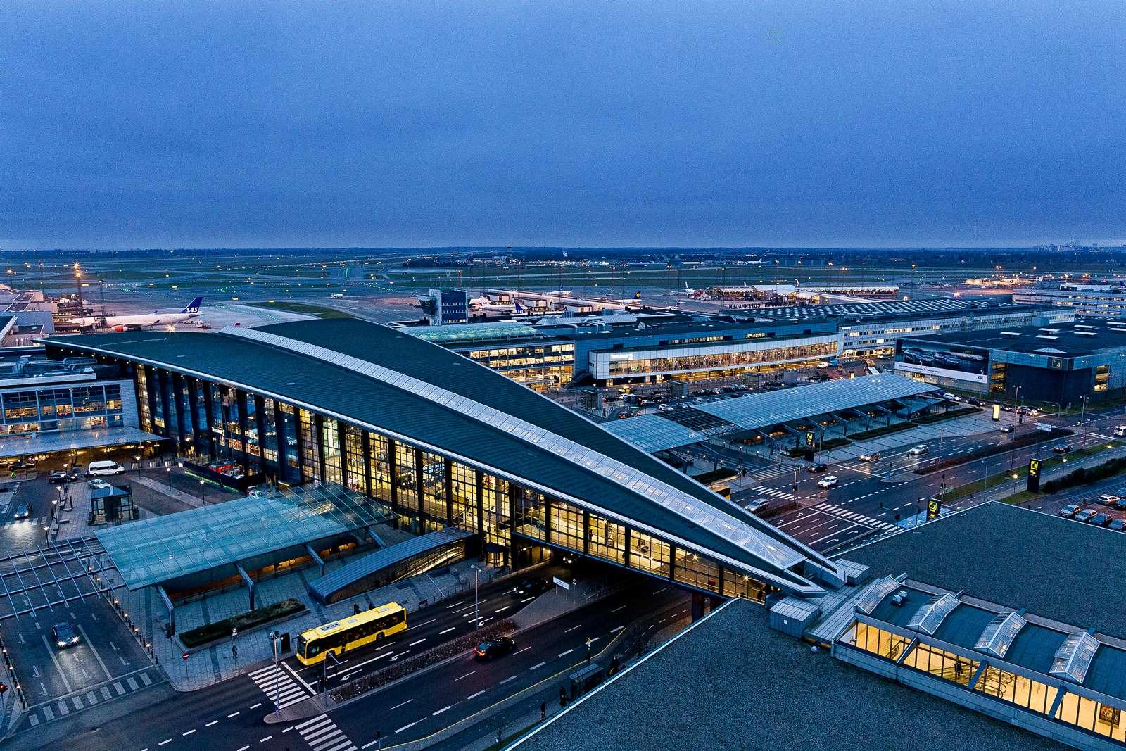 Terminal 3 i Københavns Lufthavn. (Foto: Ernst Tobisch)