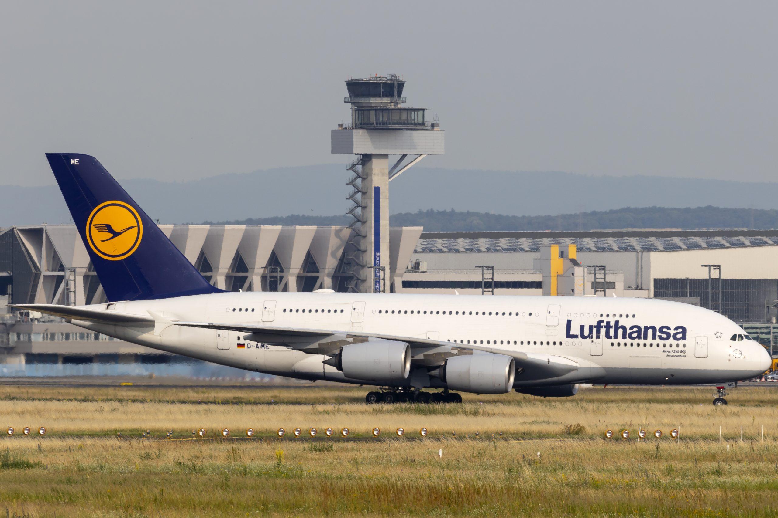 En Airbus A380-800 fra Lufthansa. Foto: © Thorbjørn Brunander Sund, Danish Aviation Photo