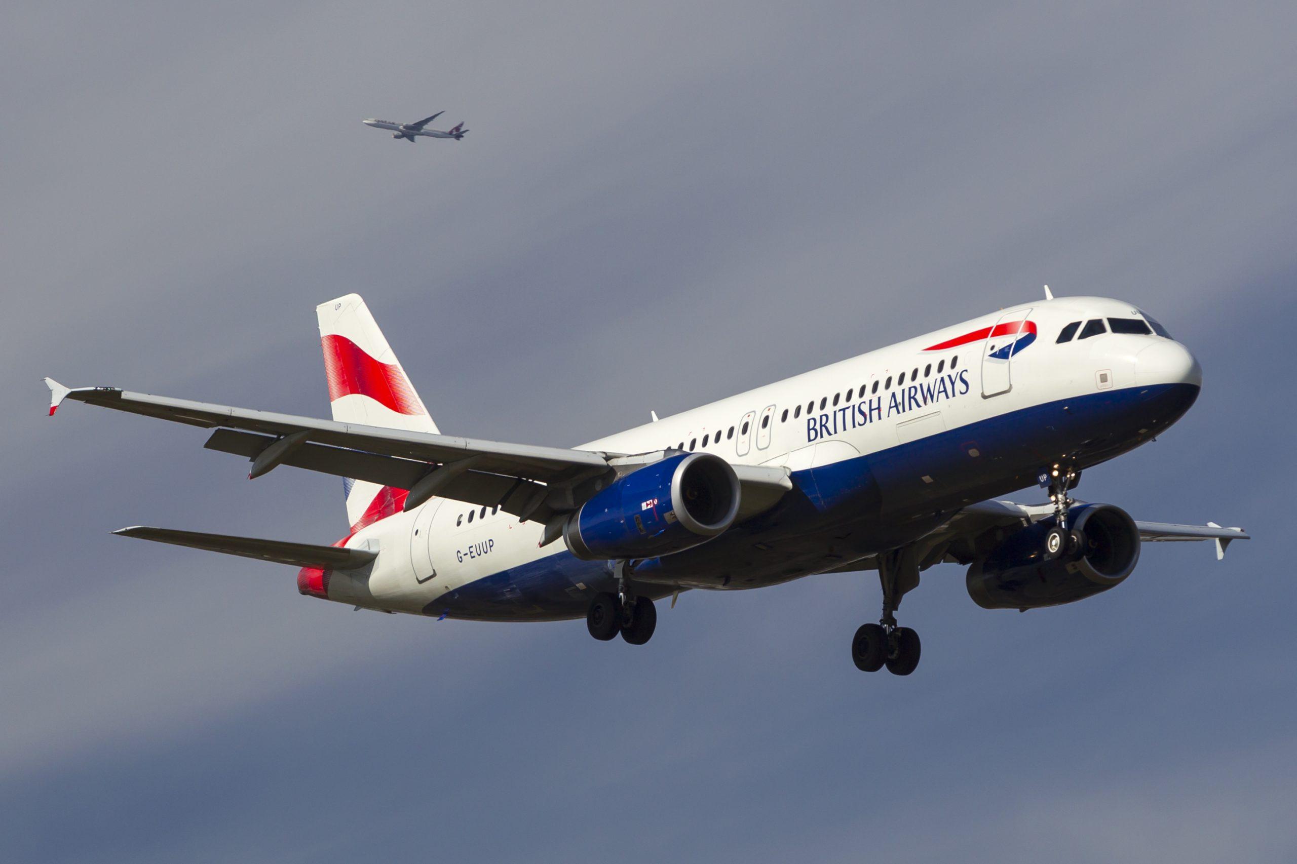 En Airbus A320-200 fra British Airways. Foto: © Thorbjørn Brunander Sund, Danish Aviation Photo