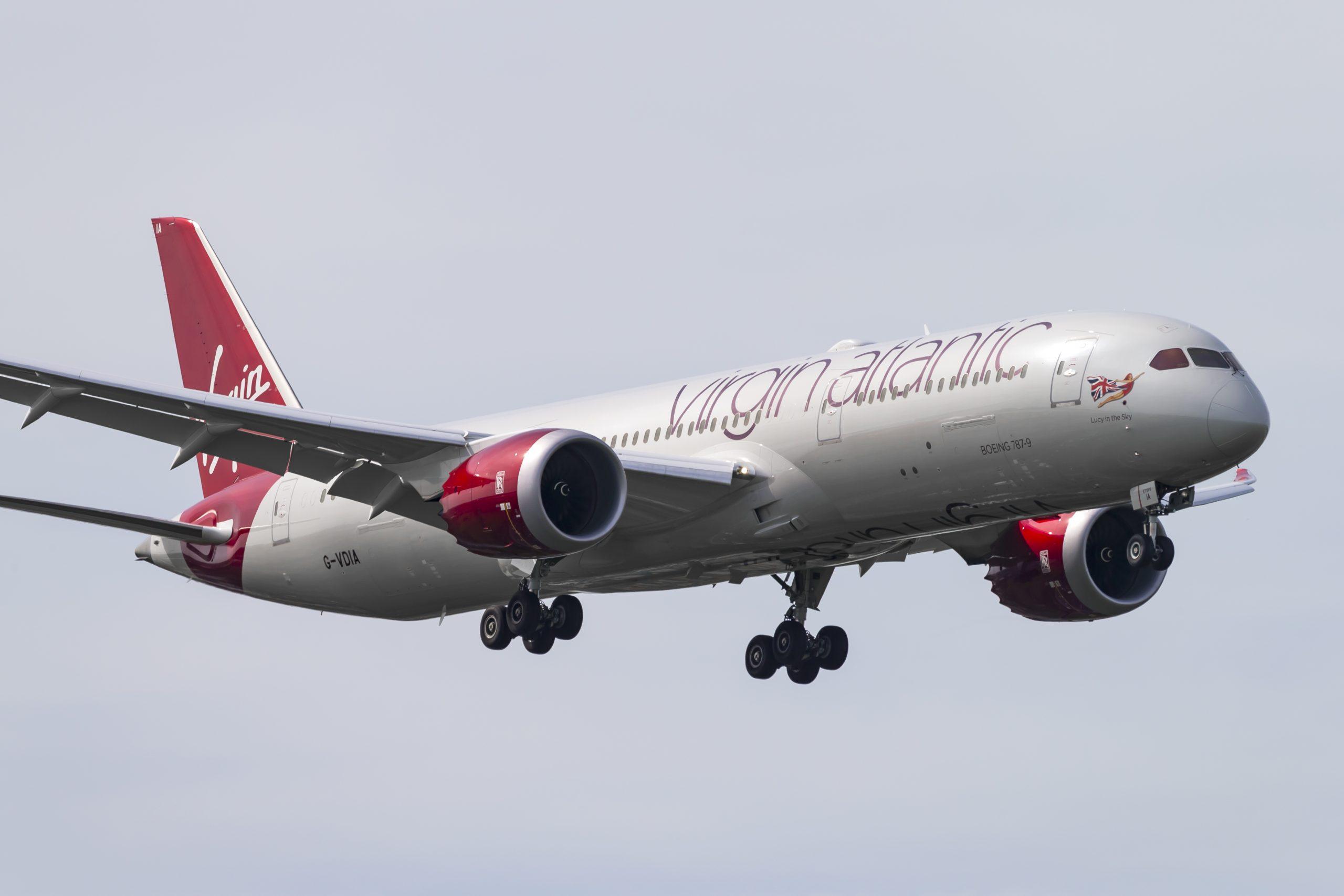 En Boeing 787-9 Dreamliner fra Virgin Atlantic. Foto: © Thorbjørn Brunander Sund, Danish Aviation Photo